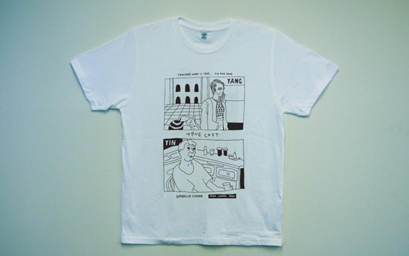 ゲリラシネマTシャツ1(small)